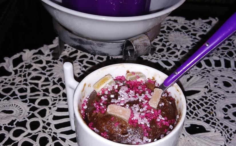 Spécial mug-cake : on teste le moelleux auchocolat.