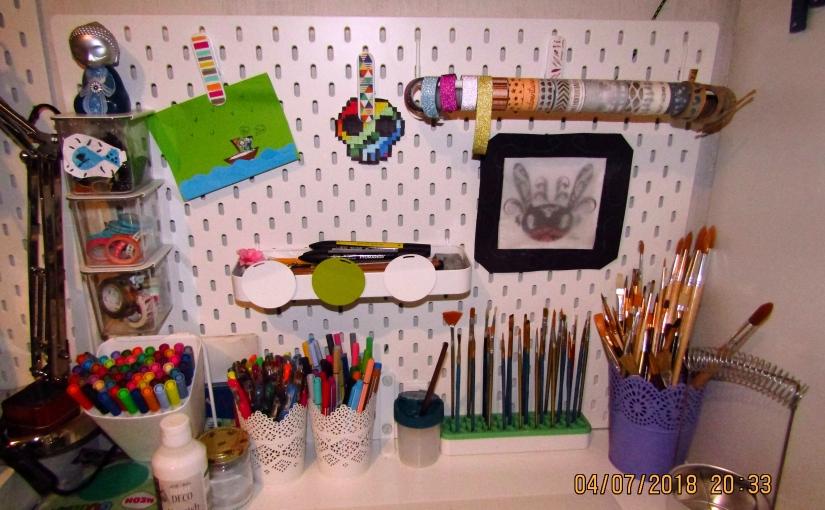 Décorer son bureau avec de petits élémentsfait-maison